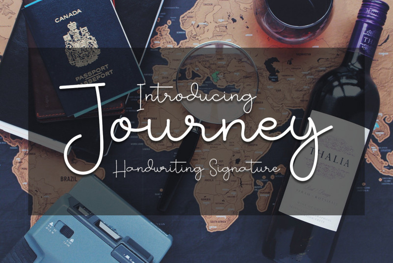 Journey Handwritten Font