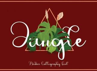 Jungle Calligraphy Font