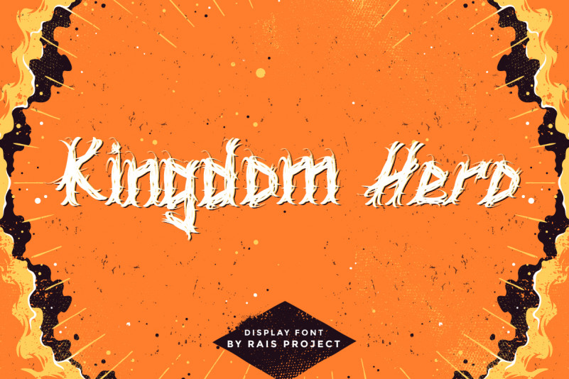 Kingdom Hero Display Font