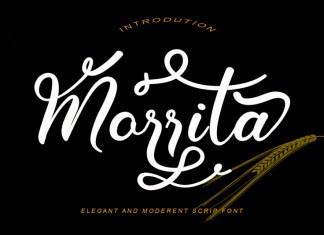 Morrita Script Font