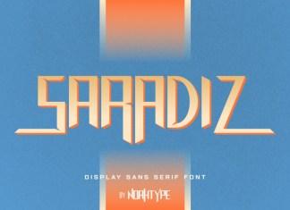 Saradiz Display Font
