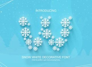 Snow White Display Font