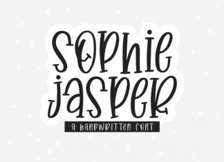 Sophie Jasper Display Font