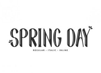 Spring Day Display Font