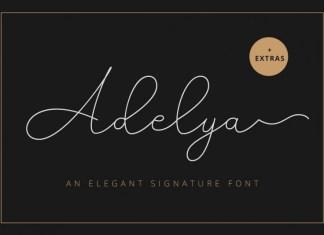 Adelya Script Font