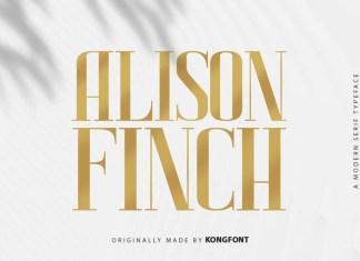 Alison Finch Serif Font