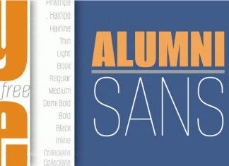 Alumni Sans Serif Font