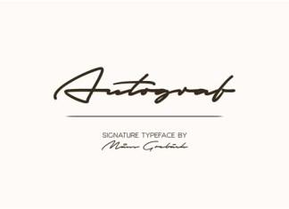 Autograf Font