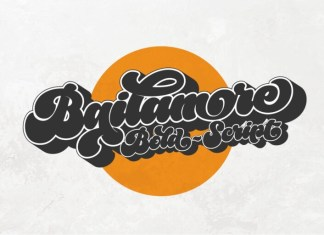 Bailamore Script Font