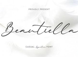 Beautiella Handwritten Font