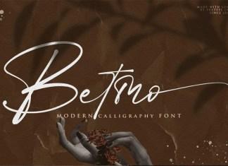 Betmo Script Font