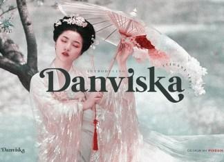 Danviska Serif Font