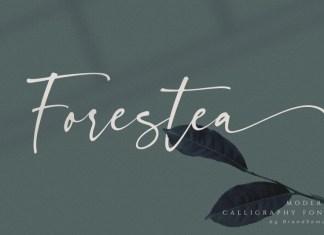 Forestea Script Font