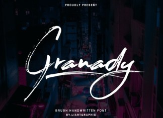 Granady Brush Font