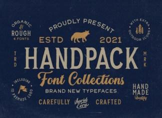 Handpack Bold Script Font
