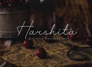 Harshita Handwritten Font
