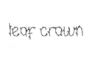 Leaf Crown Display Font