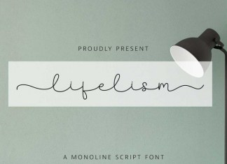 Lifelism Handwritten Font