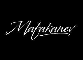 Mafakanev Font