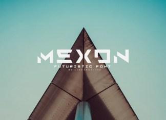 Mexon Display Font