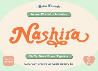 Nashira display Font