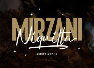 Niquitta Mirzani Script Font