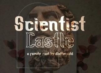 Scientist Castle Display Font