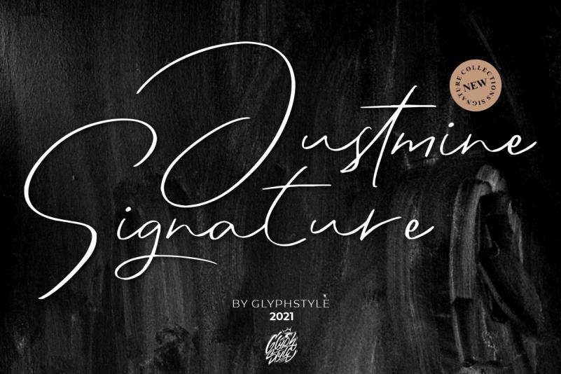 Justmine Signature Font