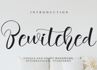 Bewitched Calligraphy Font