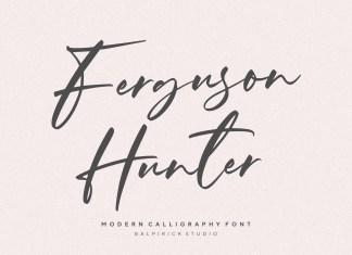 Ferguson Hunter Script Font