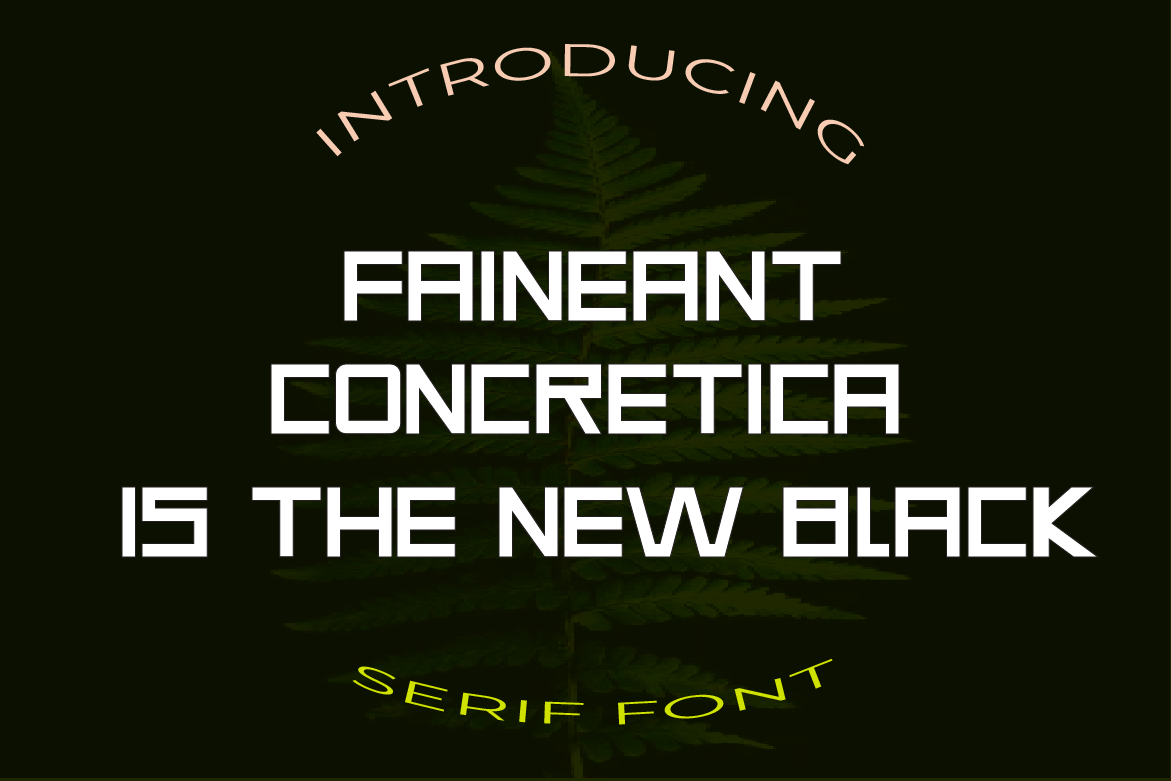 Faineant Font