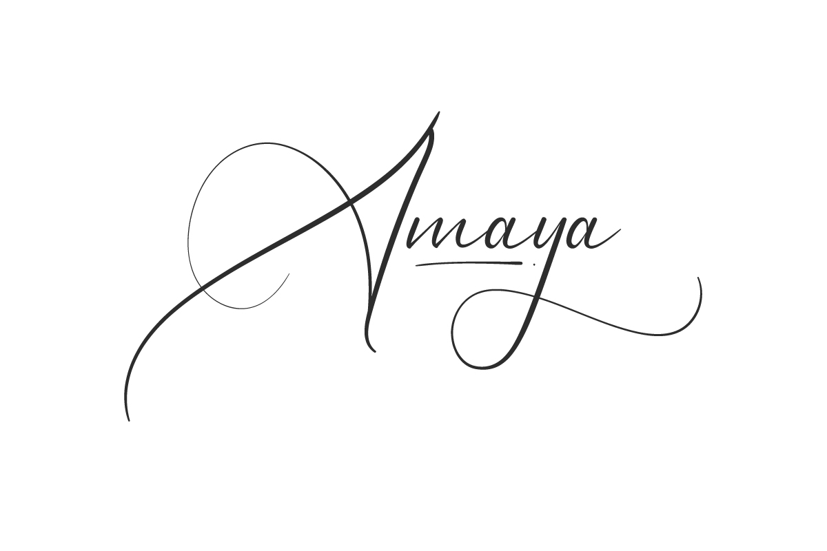 Amaya Script Font
