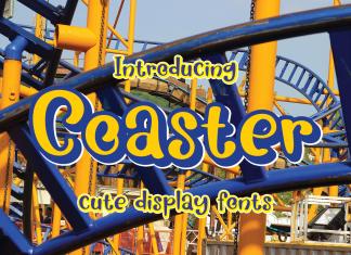 Coasters Display Font