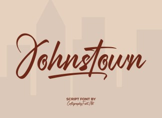 Johnstown Script Font