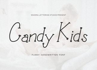 Candy Kids Display Font