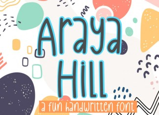 Araya Hill Display Font