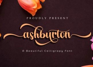 Ashburton Calligraphy Font