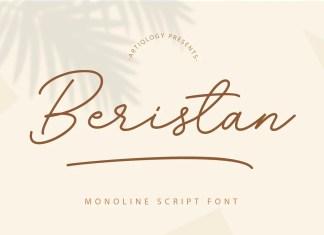 Beristan Handwritten Font