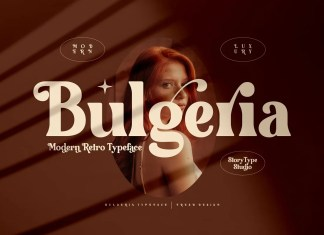 Bulgeria Serif Font