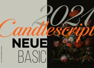 Candlescript Neue Calligraphy Font
