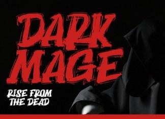 Dark Mage Display Font
