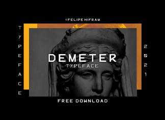 Demeter Display Font