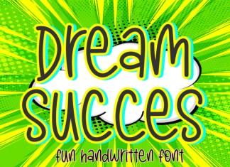 Dream Succes Display Font