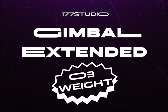 Gimbal Extended Font