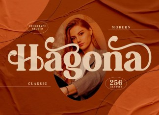Hagona Serif Font