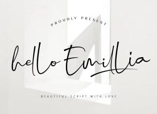Hello Emillia Handwritten Font