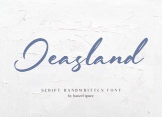 Jeasland Script Font