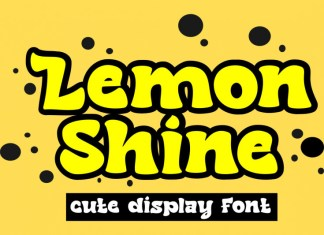 lemon Shine Font