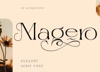 Magero Serif Font