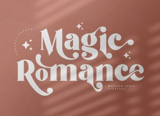 Magic Romance Serif Font